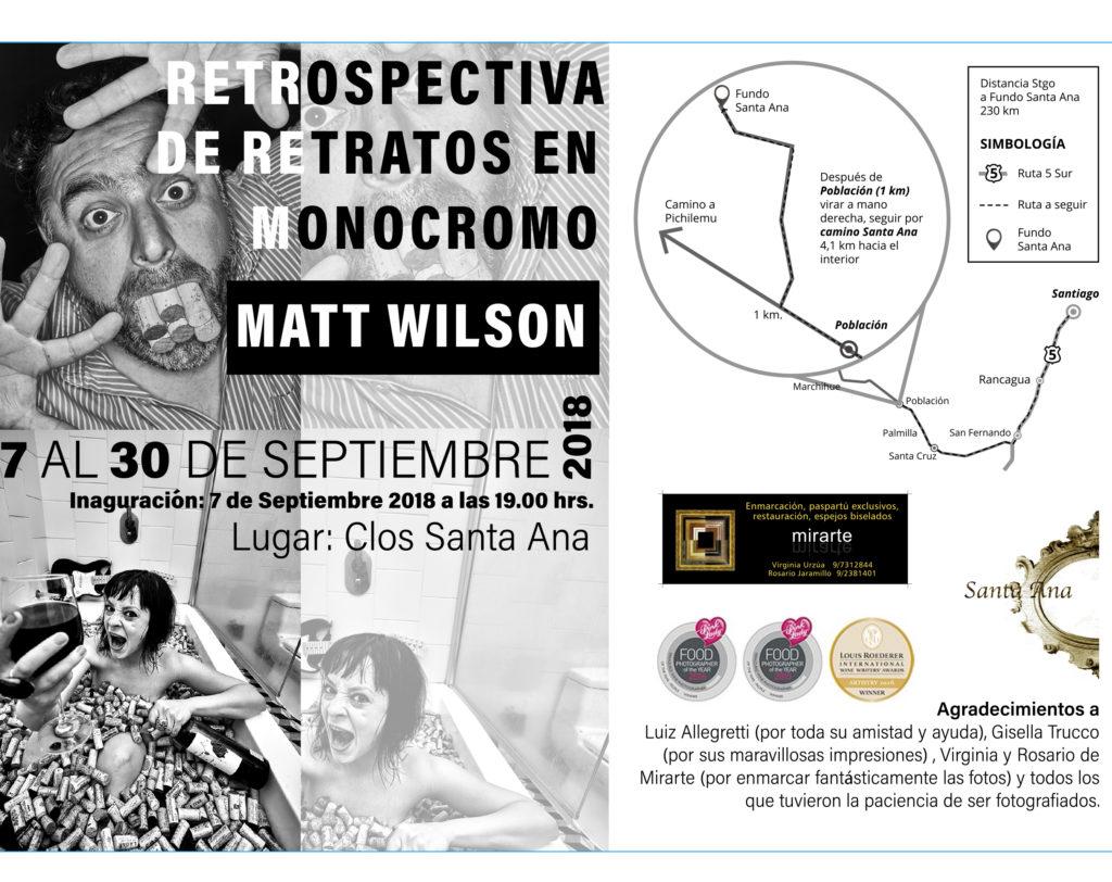RETROSPECTIVA DE FOTOS MATT WILSON EN COLCHAGUA | WIP