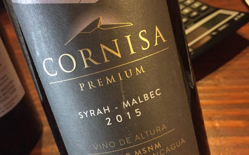 El Escorial Cornisa Syrah Malbec 2015 Aconcagua