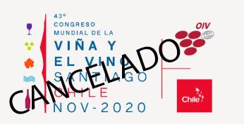 CANCELADO / APLAZADO 43° CONGRESO OIV CHILE 2020 | WIP